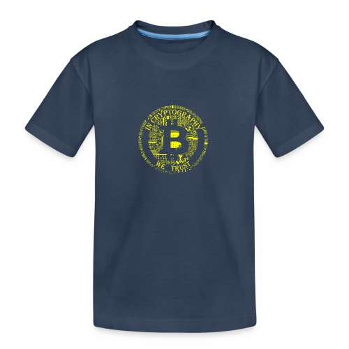 In cryptography we trust 2 - Teenager Premium Organic T-Shirt