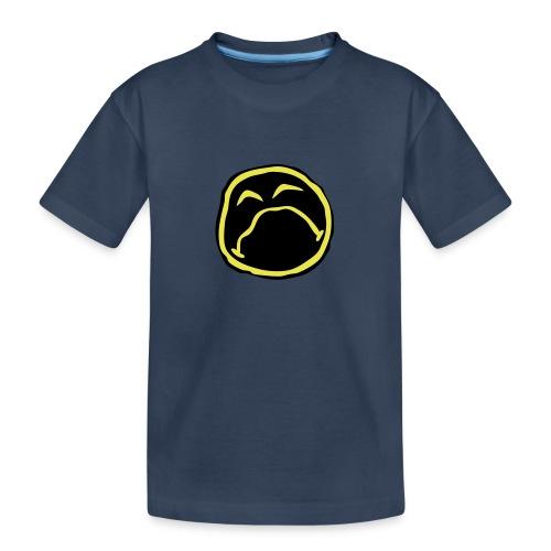 Droef Emoticon - Teenager premium biologisch T-shirt