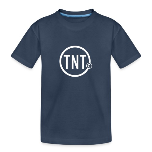 TNT-circle - Teenager premium biologisch T-shirt