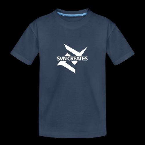 SVN Shirt logo 1 png - Teenager premium biologisch T-shirt