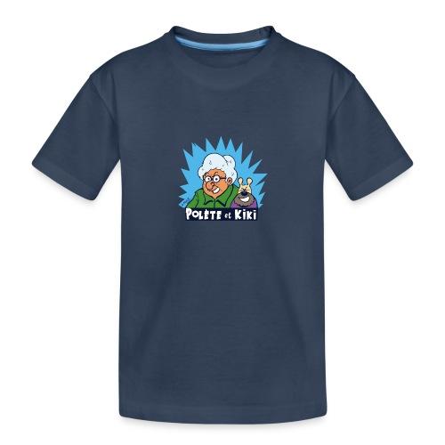 tshirt polete et kiki - T-shirt bio Premium Ado