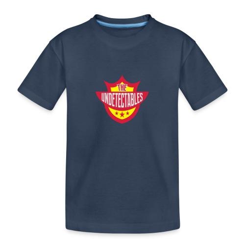 Undetectables voorkant - Teenager premium biologisch T-shirt