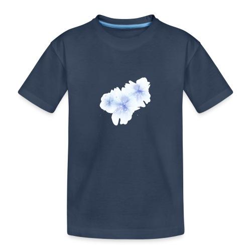 blue flowers - Ekologiczna koszulka młodzieżowa Premium