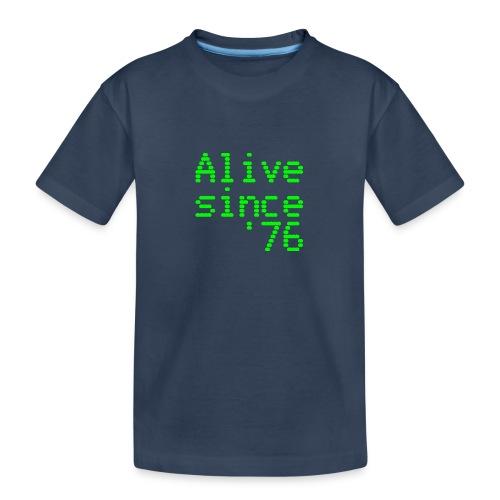 Alive since '76. 40th birthday shirt - Teenager Premium Organic T-Shirt