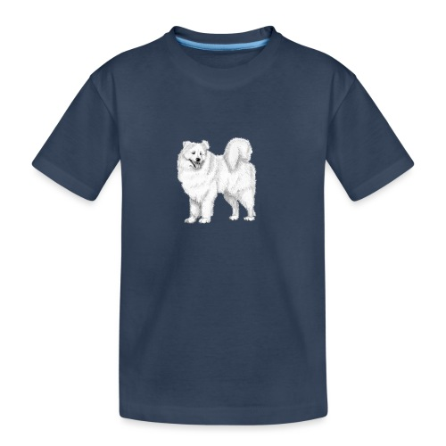 samoyed - Teenager premium T-shirt økologisk