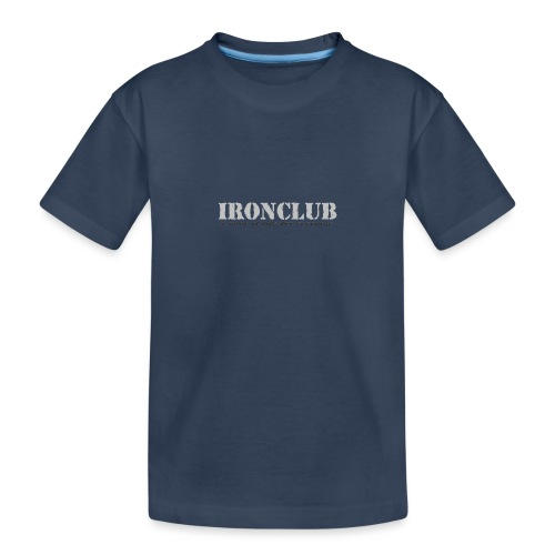 IRONCLUB - a way of life for everyone - Premium økologisk T-skjorte for tenåringer