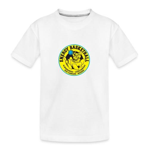 baby energy basketball - Maglietta ecologica premium per ragazzi