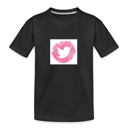 pink twitt - Teenager Premium Organic T-Shirt