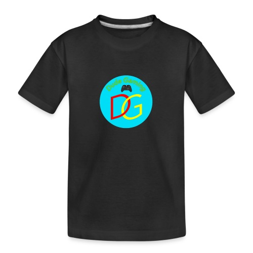 Dude Gaming - Teenager premium T-shirt økologisk