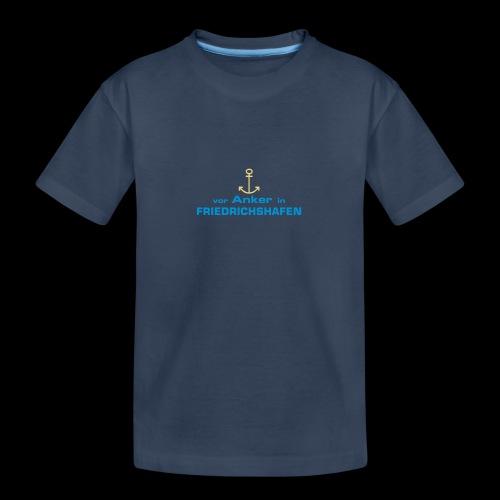 Vor Anker in Friedrichshafen - Teenager Premium Bio T-Shirt