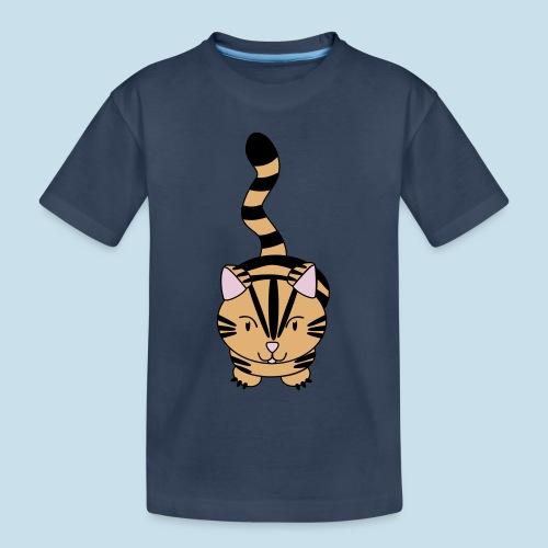 Miau Katze - Teenager Premium Bio T-Shirt