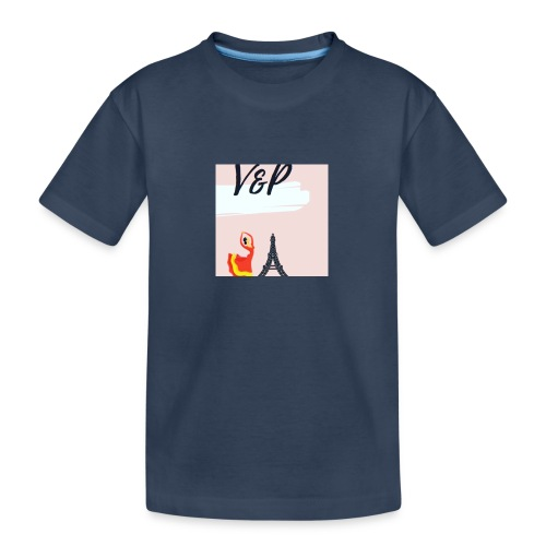 5093CF6A 6ED5 4C11 9553 75CE5F6F2F40 1 - Camiseta orgánica premium adolescente