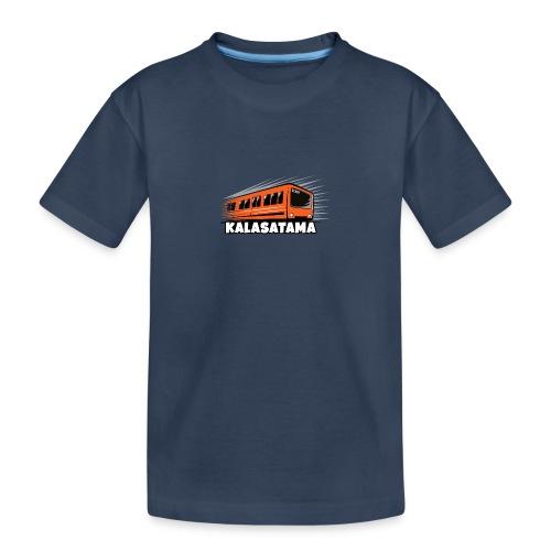 11- METRO KALASATAMA - HELSINKI - LAHJATUOTTEET - Teinien premium luomu-t-paita