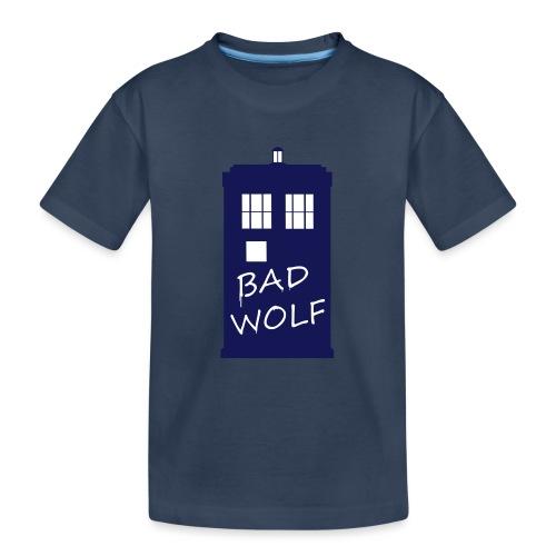Bad Wolf Tardis - T-shirt bio Premium Ado