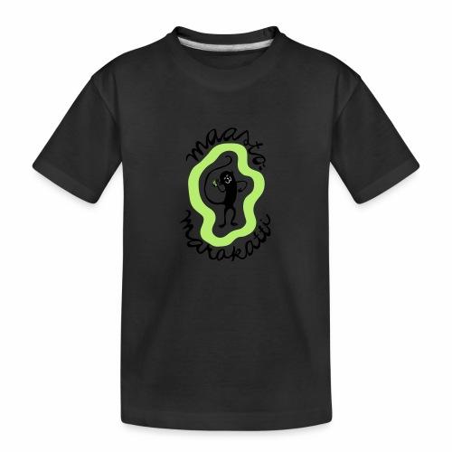 Maastomarakatti - Teinien premium luomu-t-paita