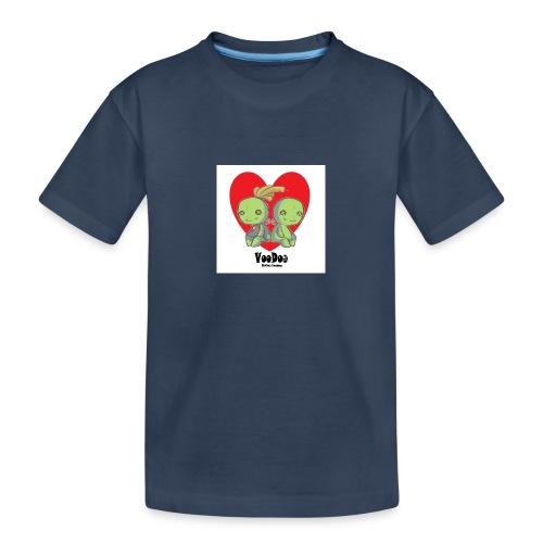 bhnvdloove-png - Camiseta orgánica premium adolescente