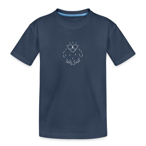 Niki Owl (blanco) - Teenager Premium Organic T-Shirt