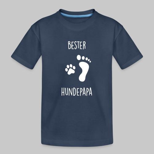 Bester Hundepapa - Teenager Premium Bio T-Shirt