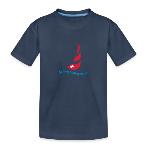 logo sailing switzerland - Teenager Premium Bio T-Shirt