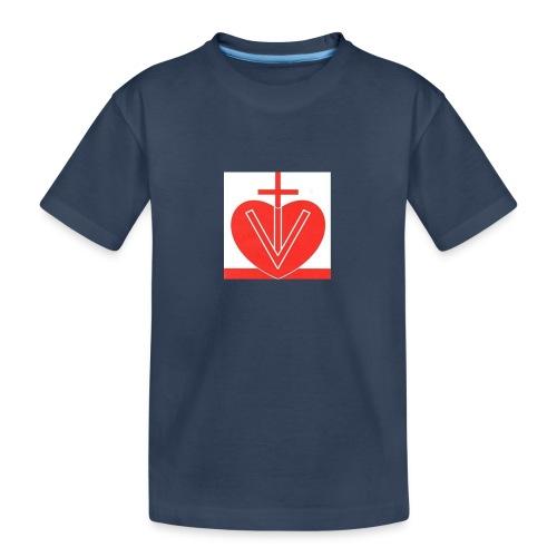 Visk stor - Ekologisk premium-T-shirt tonåring