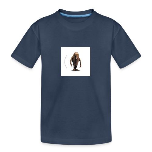 button hempel weiss - Teenager Premium Bio T-Shirt