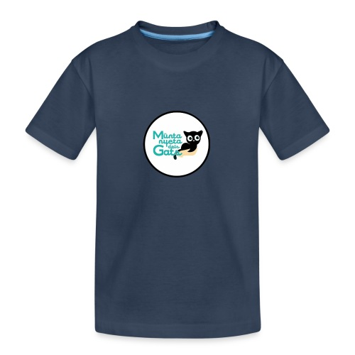 La Muntanyeta dels Gats Logo - Camiseta orgánica premium adolescente