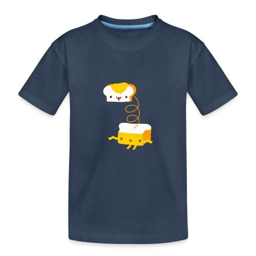 Cat sandwich gatto sandwich - Maglietta ecologica premium per ragazzi