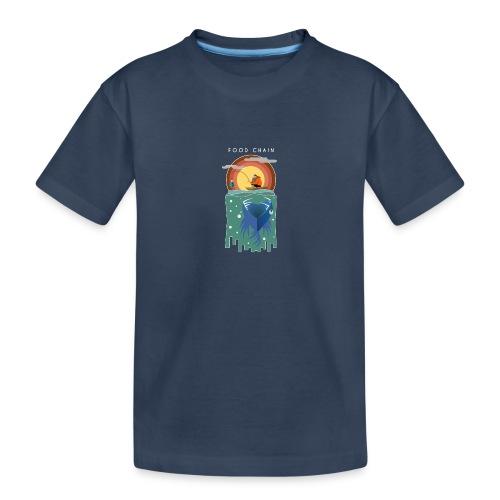 Food chain - T-shirt bio Premium Ado