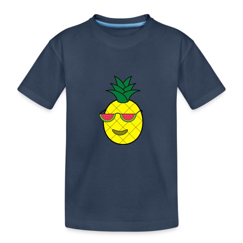 Cool pineapple - Teenager Premium Organic T-Shirt