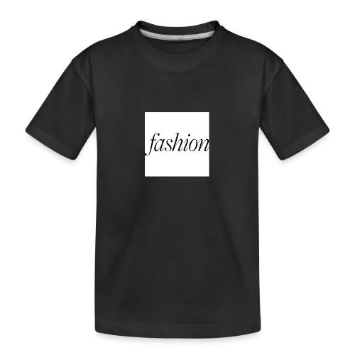 fashion - Teenager premium biologisch T-shirt