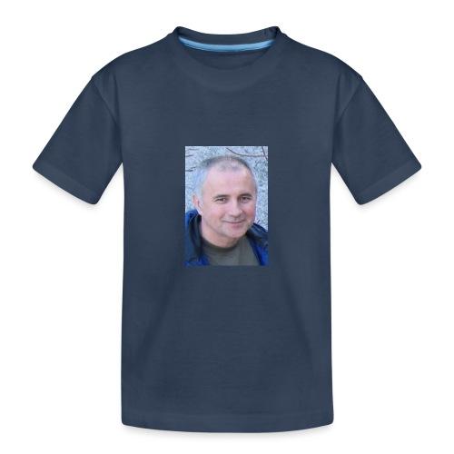 tibor csikos - Ekologisk premium-T-shirt tonåring