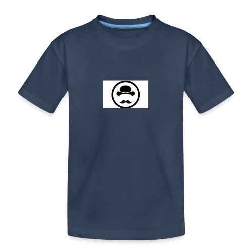 Bigote Logo La Trompa - Camiseta orgánica premium adolescente