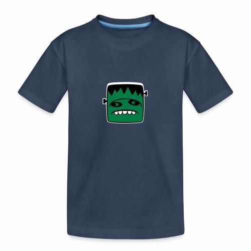 Fonster pur weißer Rand - Teenager Premium Bio T-Shirt