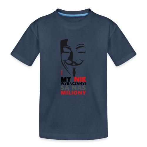 Są Nas MILIONY - kolejny motyw Akademia Wywiadu™ - Ekologiczna koszulka młodzieżowa Premium