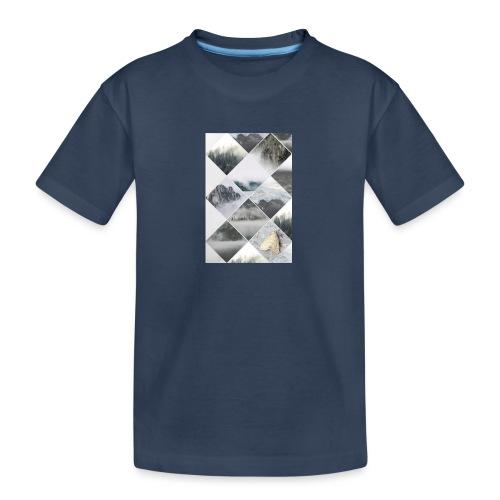 SKANDYNAWSKI SEN - Ekologiczna koszulka młodzieżowa Premium