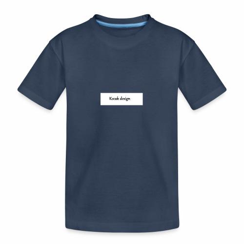 Kocak design - Teenager premium T-shirt økologisk