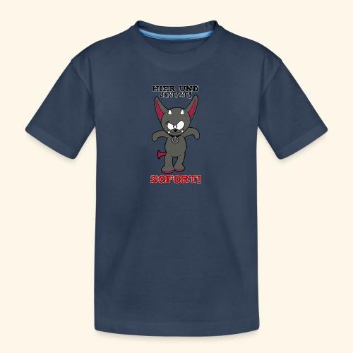Zwergschlammelfen - Hier und Jetzt, Sofort! - Teenager Premium Bio T-Shirt