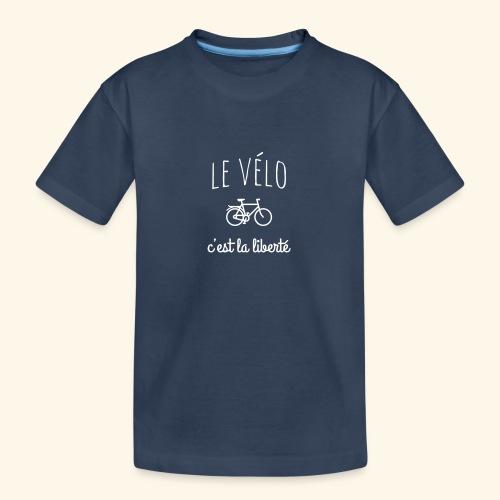 Le vélo c'est la liberté - T-shirt bio Premium Ado