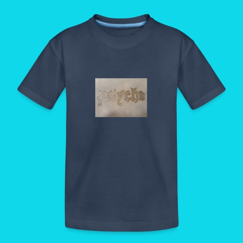 Simon Psycho Artist - Teenager premium biologisch T-shirt