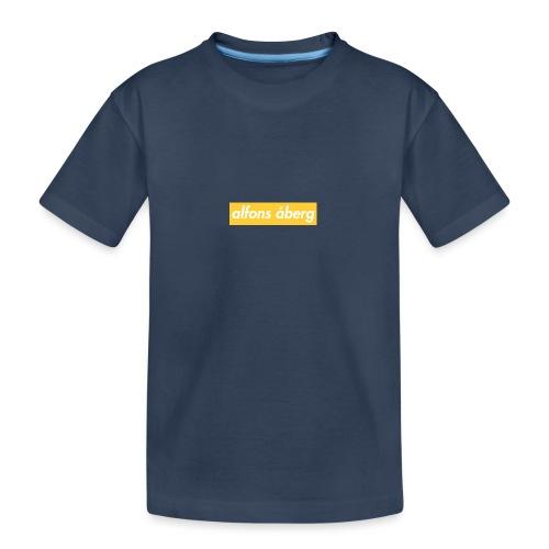 qaalfons åberg - Ekologisk premium-T-shirt tonåring