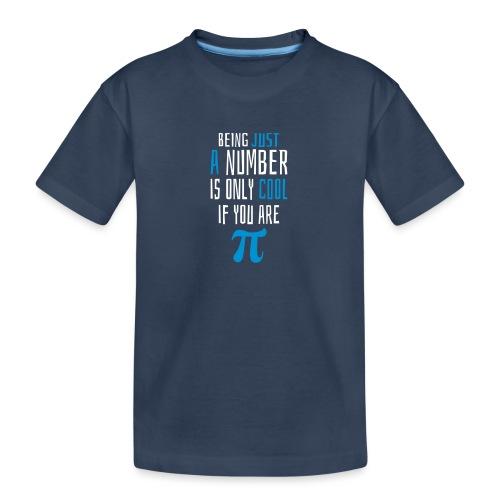 Zahl Pi Geek Spruch - Teenager Premium Bio T-Shirt