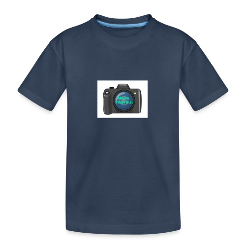 Melvin vlogs that merch - Teenager Premium Organic T-Shirt