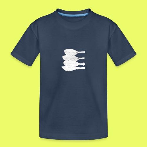 PaddelFamilie Bleistift - Teenager Premium Bio T-Shirt