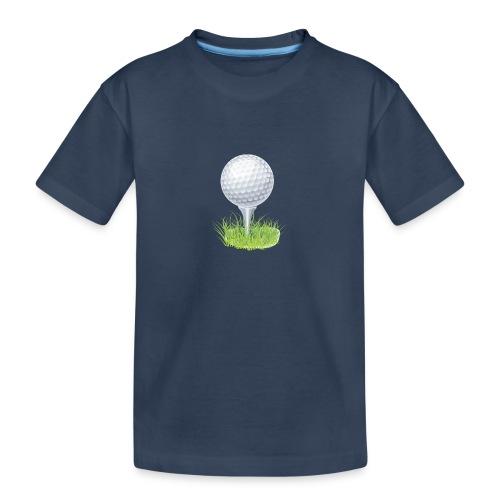 Golf Ball PNG Clipart - Camiseta orgánica premium adolescente