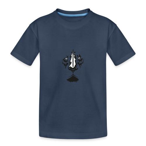 Lyon cruz - Camiseta orgánica premium adolescente