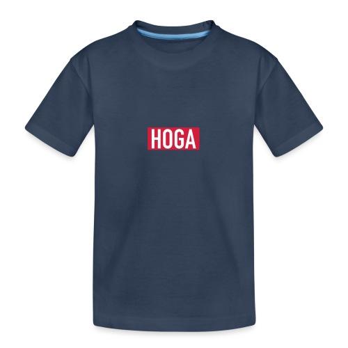 HOGAREDBOX - Premium økologisk T-skjorte for tenåringer