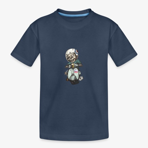 Skullterist - Solo Big Print - Teenager Premium Bio T-Shirt