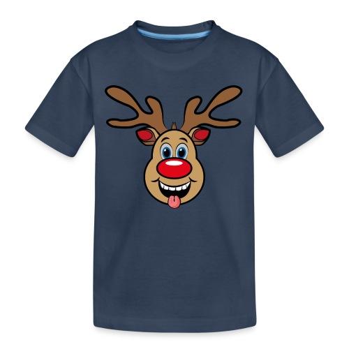 UGLY XMAS - Reindeer Rudi - Teenager Premium Bio T-Shirt