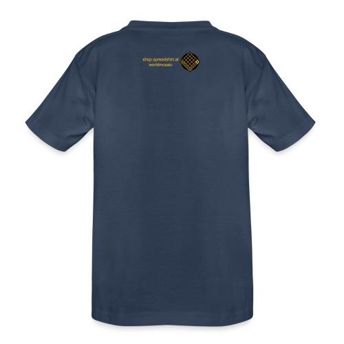 TIAN GREEN Welt Mosaik Shirt - Logo 2020 - Teenager Premium Bio T-Shirt
