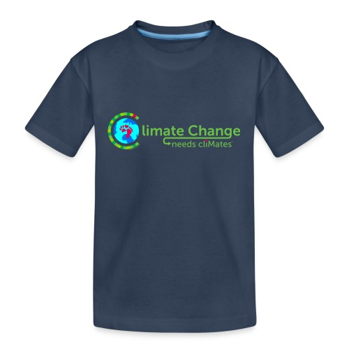 Climate Change needs cliMates - Teenager Premium Organic T-Shirt